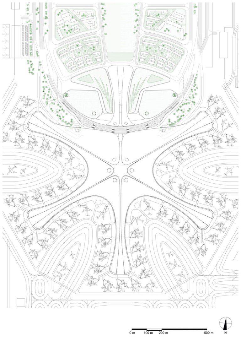 Beijing Daxing International Airport Zaha Hadid Architects Igs