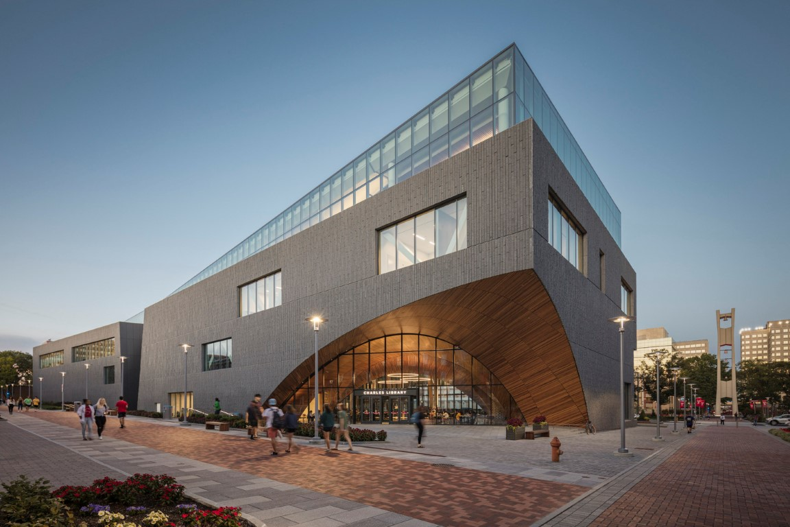 Charles Library at Temple University_Snøhetta_Projects_IGS Magazine_3