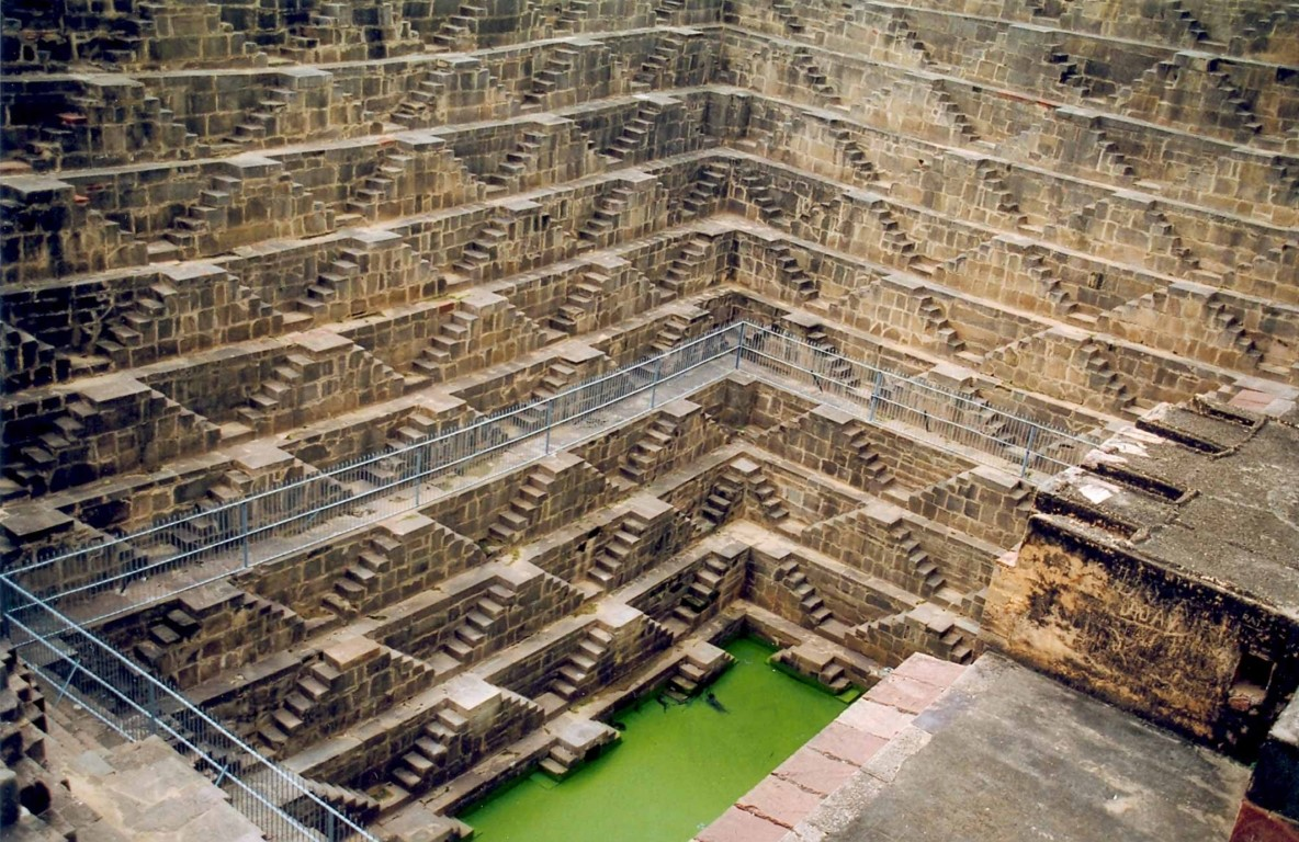 An Indian stepwell – Heatherwick's inspiration for Vessel