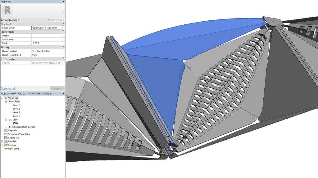 IFC2x3 model created with GeometryGym