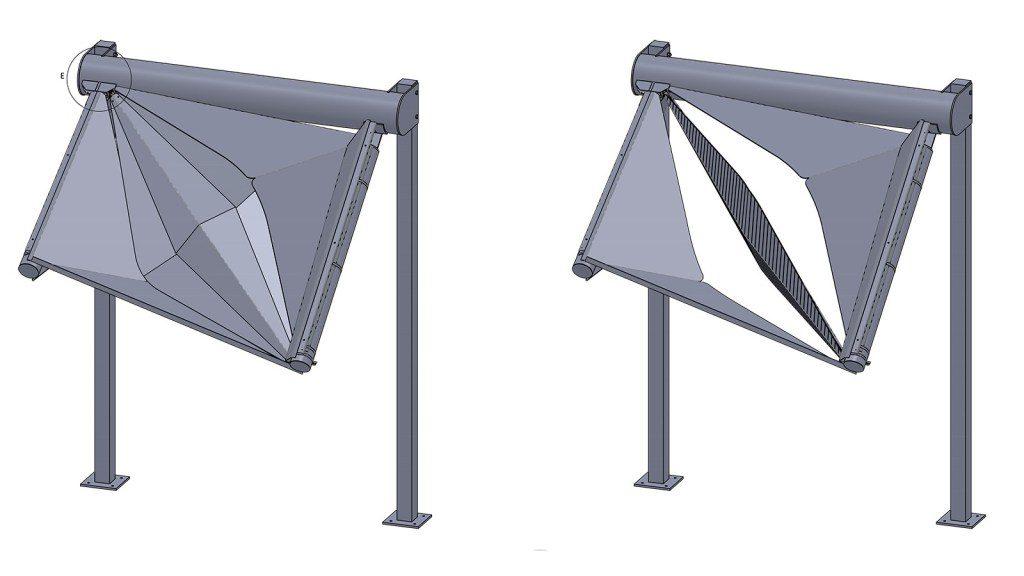 Prototype digital model generated with Solidworks (Credit: TILT Industrial Design)