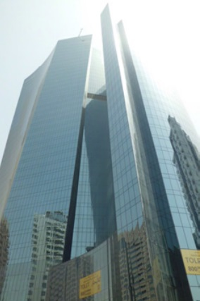 Fig. 02: Shining Towers, Abu Dhabi (Architects: H&H)