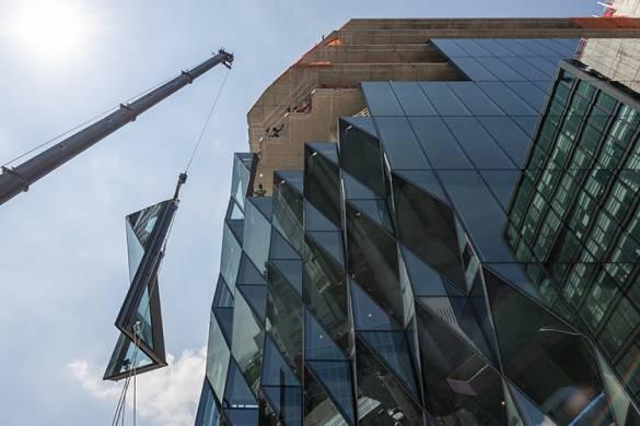 """Gem-like facade"" Shines in New York Skyline | Focchi"