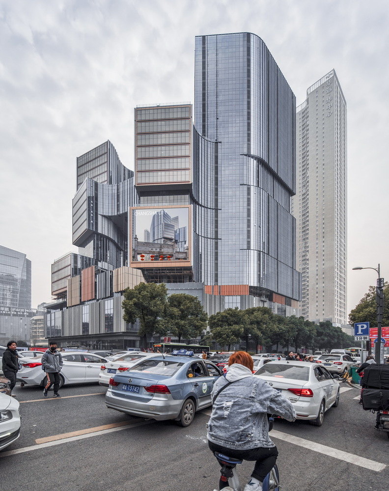 Notheast view of the project. Image Courtesy of Aedas
