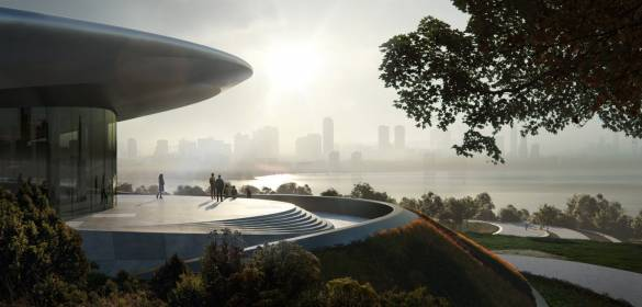 Unicorn Island Masterplan-Zaha Hadid Architects