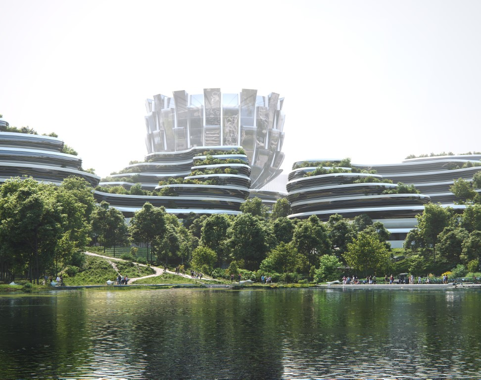 Unicorn Island Masterplan-Zaha Hadid Architects
