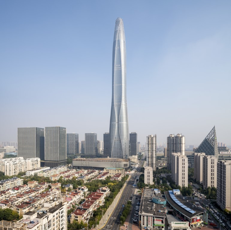 Tianjin Finance Centre – world's 7th tallest skyscraper shines with Glaston's technology-1