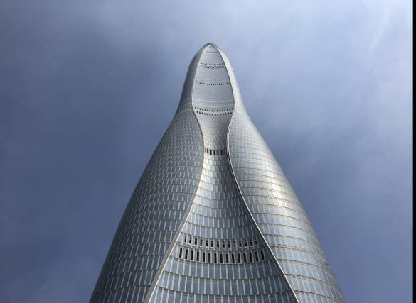 Tianjin Finance Centre – world's 7th tallest skyscraper shines with Glaston's technology