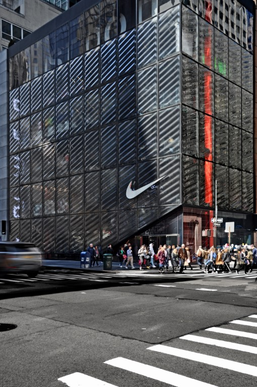 Nike's House of Innovation 000 by CallisonRTKL. Image courtesy of CRICURSA
