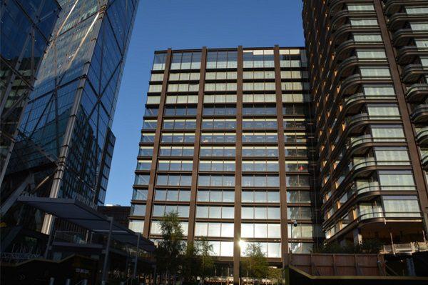 Figure 2   Office building for Principal Place, London/UK © seele
