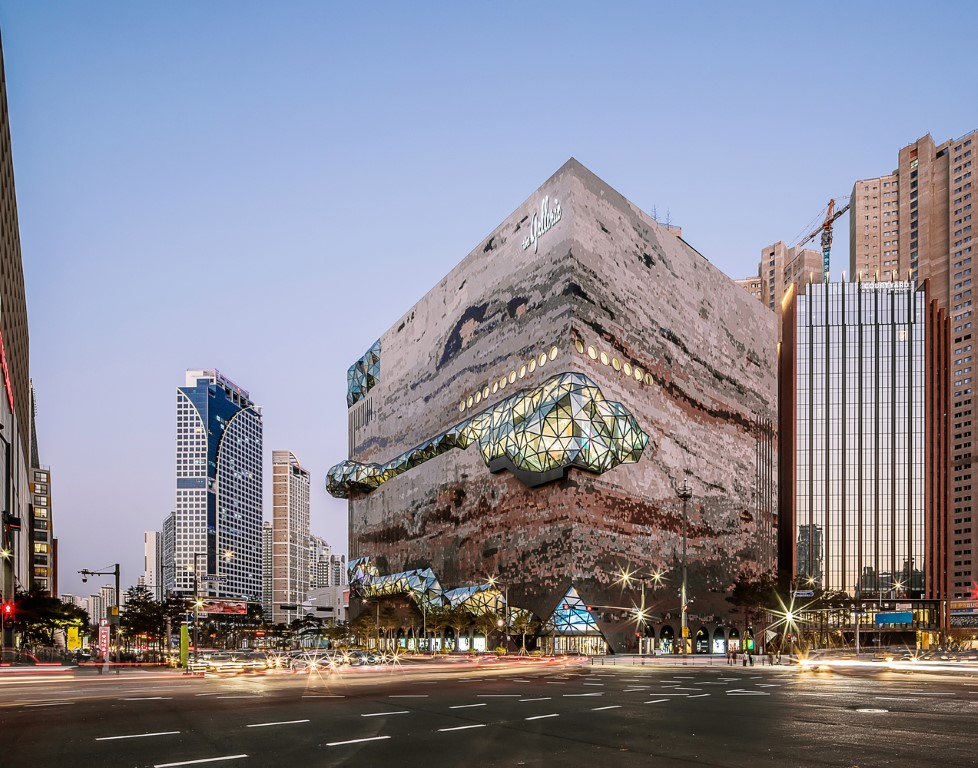 OMA Completes the Galleria Department Store in Gwanggyo, South Korea