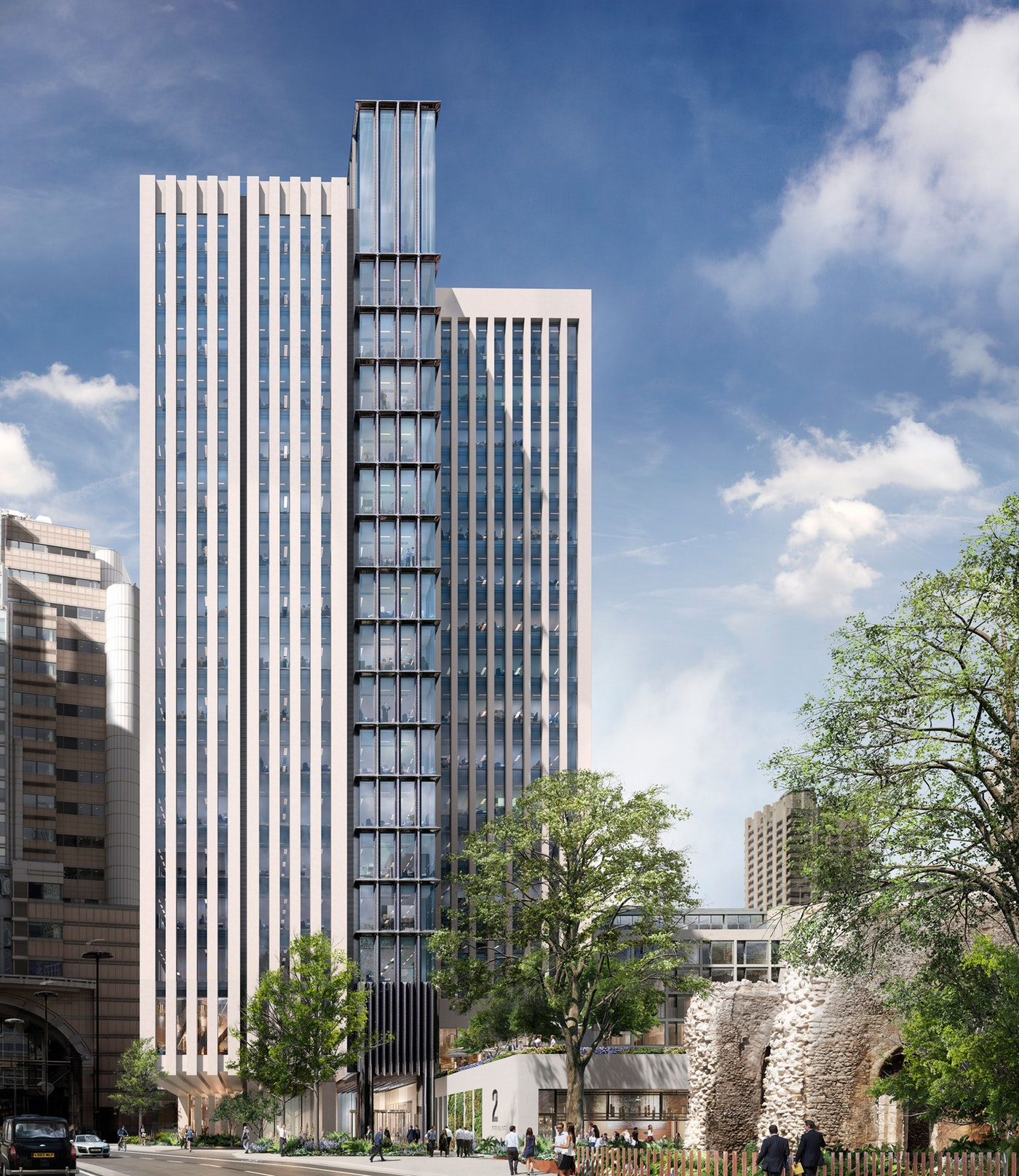 London Wall Place. Image courtesy of Make Architects