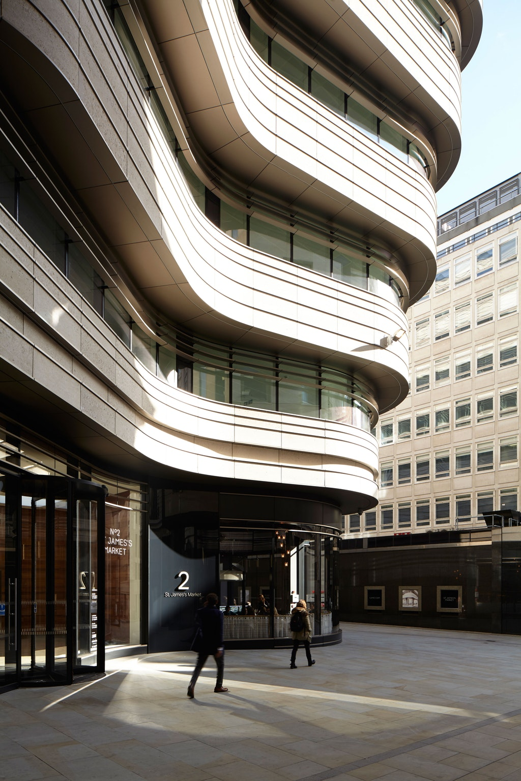 St James's Market. Image courtesy of Make Architects