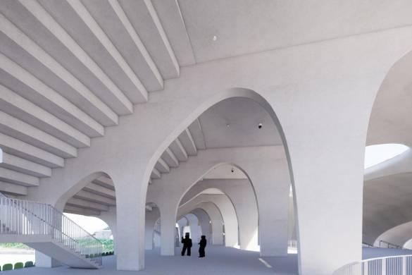 Building aVanishingStadium with MAD Architects