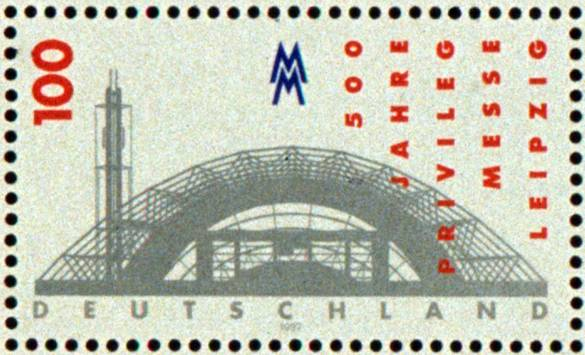361_leipzig_18 Leipzig Glass Hall German postage stamp issue 1996