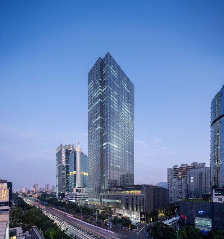 Jinan Greentown Financial Center / gad