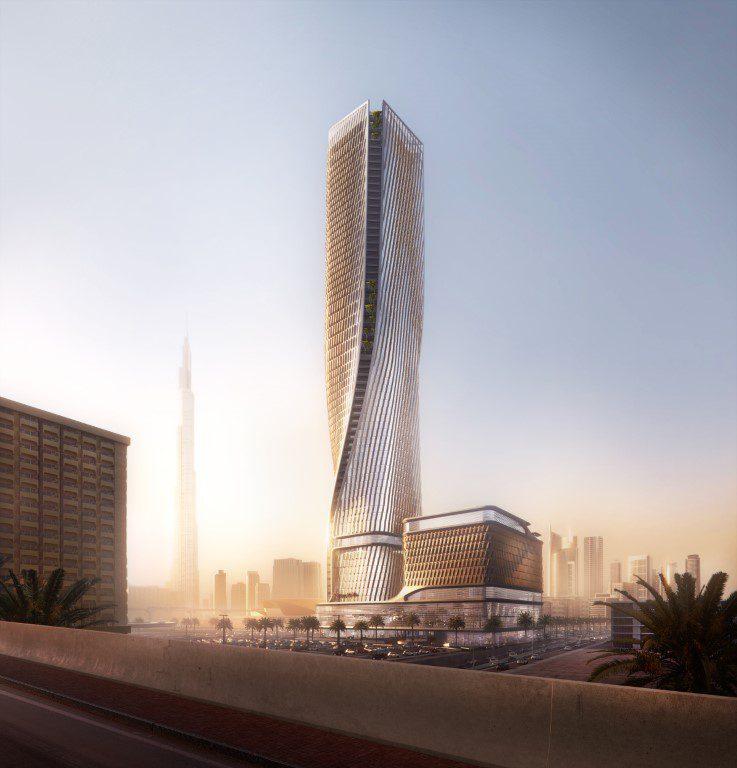 UNStudio - 2020T Dubai - Twist Opt.B - ©Plompmozes