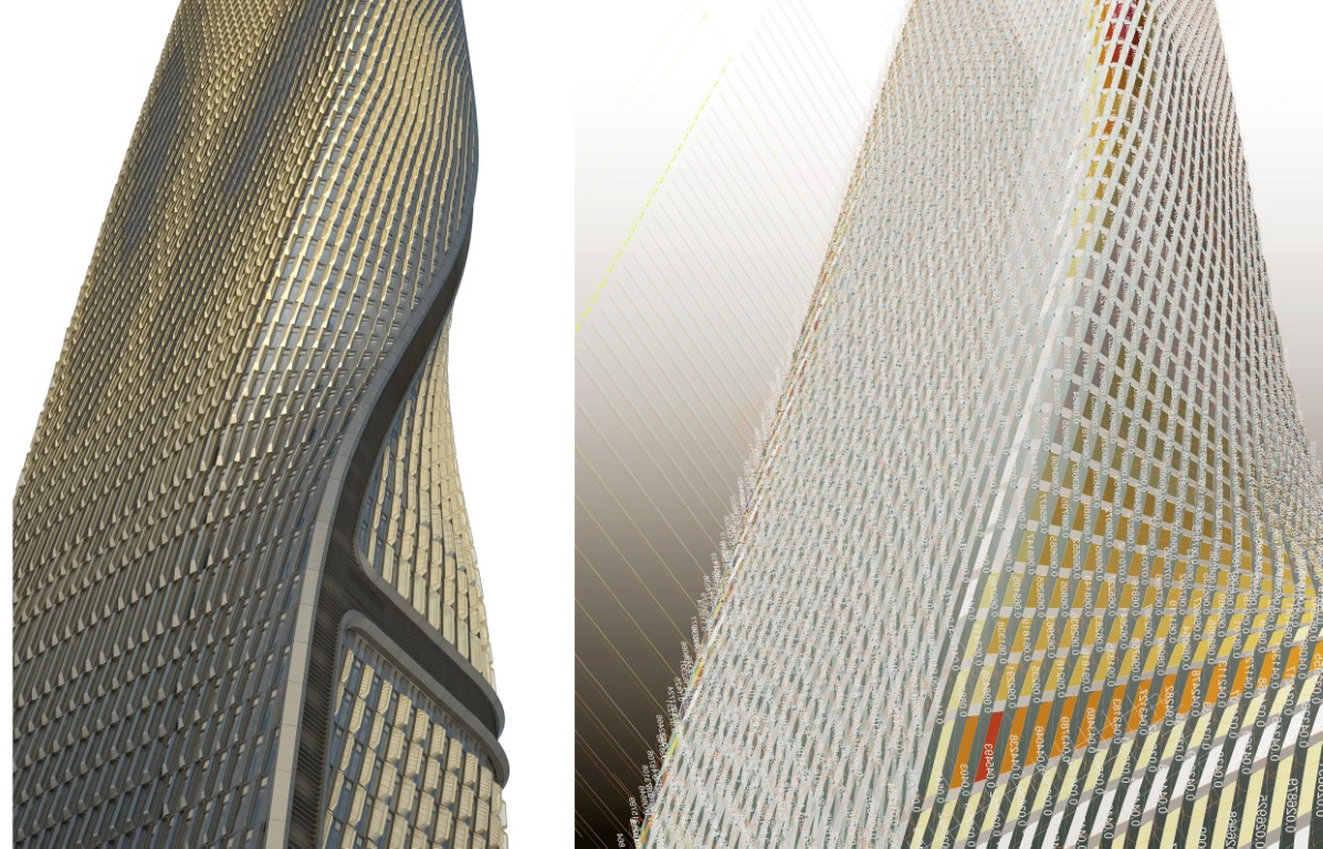 UNStudio - Wasl Tower_Facade Rationalisation