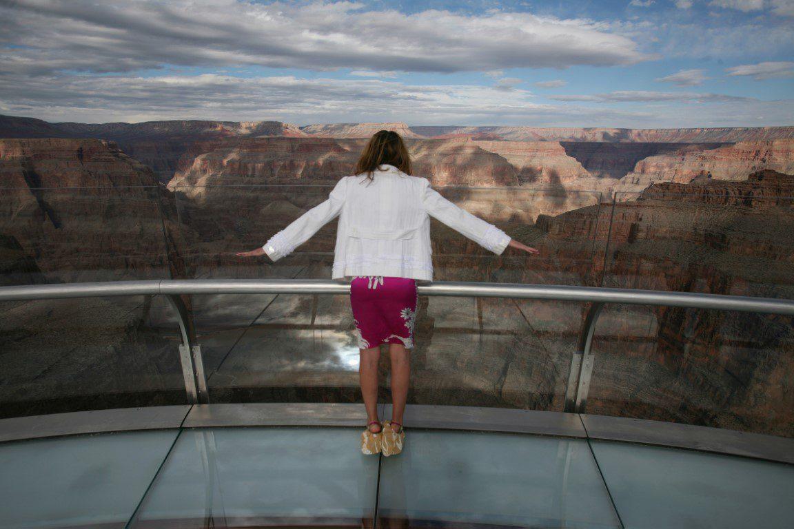 Skywalk, Grand Canyon/Arizona (USA) with TROSIFOL PVB film for laminated safety glass