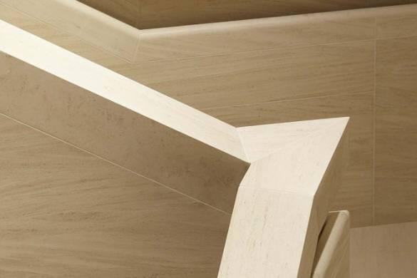 Detail: limestone staircase. Image © Hufton + Crow