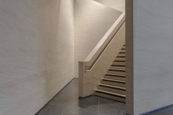 Detail: Limestone Staircase. Image © Timothy Soar