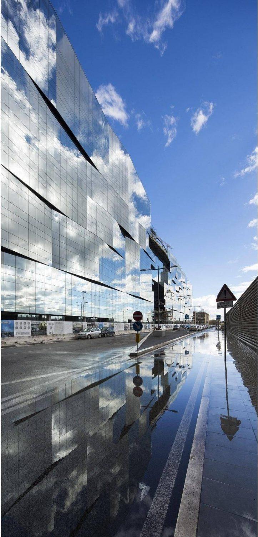 BNL - BNP Paribas Headquarters, 5+1 AA Alfonso Femia Gianluca Peluffo architectures, Photo: Luc Boegly