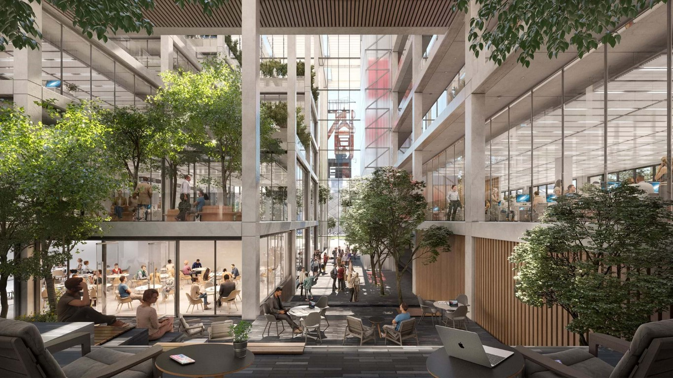 ICÔNE breaks ground in Belval   Foster + Partners