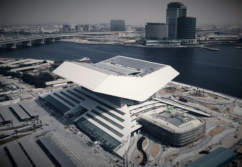 Mohamed Bin Rashid Library, Dubai (image courtesy of Saint-Gobain SageGlass)
