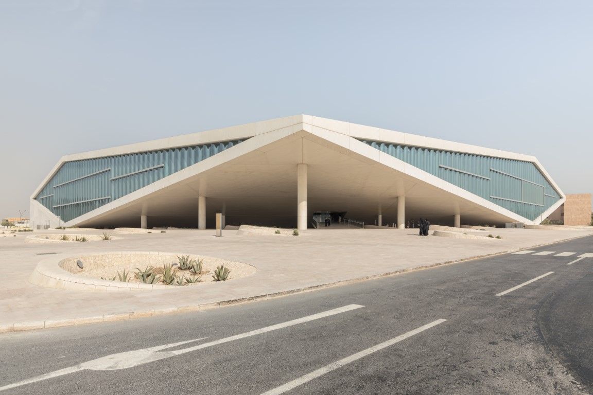 Culture, Climate and Curved Glass | Qatar National Library