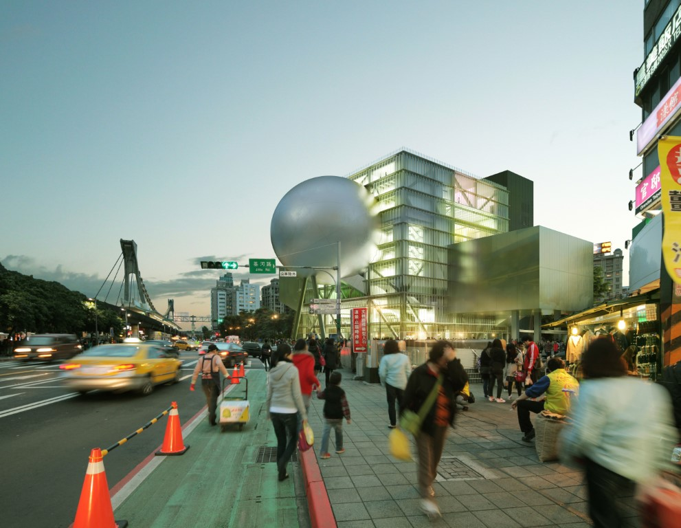 Corrugated Glass - Curves and Reflections at Taipei Performing Arts Center - OMA - IGS Magazine