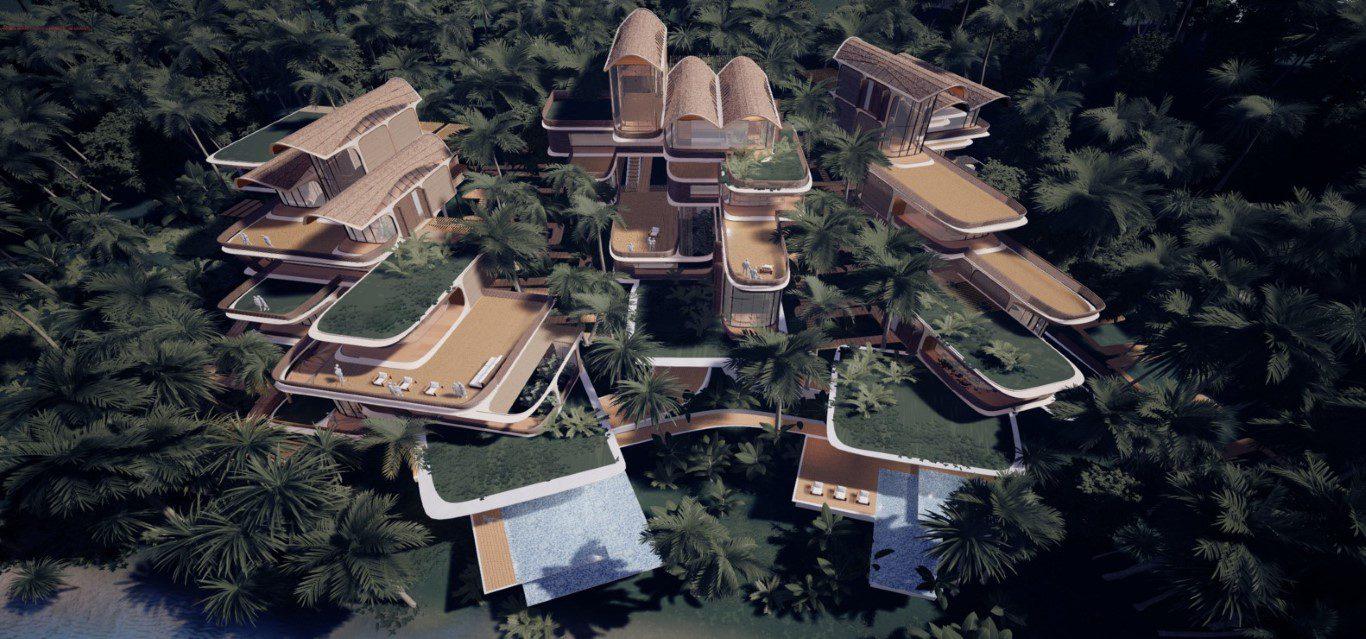 Zaha Hadid Architects Creates Residential Project for the Island of Roatán, Honduras in the Caribbean
