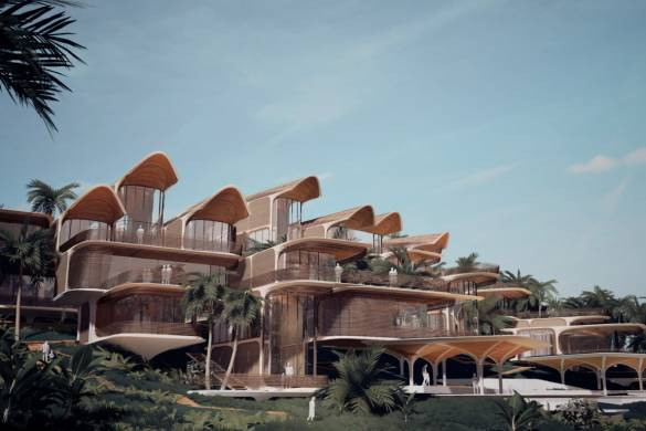 Zaha Hadid Architects Creates Residential Project for the Island of Roatán, Honduras in the Caribbean