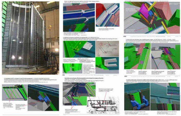 Figure 22 RFR's documentation of PMU checking and 3d BIM checking