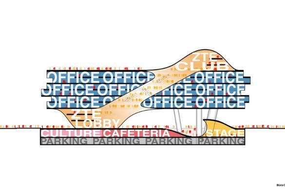 Büro Ole Scheeren Imagines ZTE Headquarters, a New Symbol for China's Digital Revolution