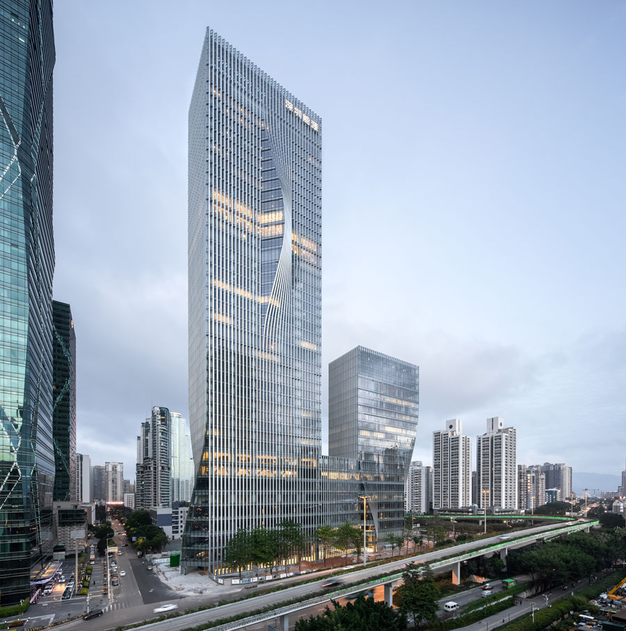 SHENZHEN ENERGY MANSION BY CHAO ZHANG